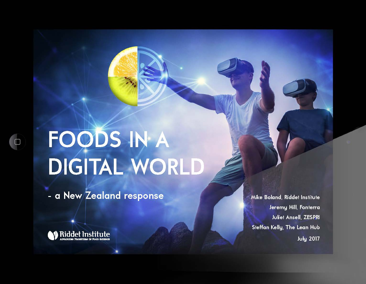 Foods in a Digital World